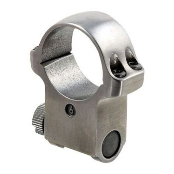 "Ruger 6K 1"" Stainless Extra High Rifle Scope Mount Ring for KM77,K77,10/22,K1,Redhawk"
